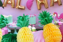 Hawaiian Party Theme - Botez Nicholas