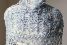 Crochet-Shawl,Poncho / crochet / by wafaa ali
