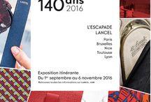 L'Escapade Lancel / sept - november 2016 - Paris, Nice, Bruxelles, Toulouse, Lyon.
