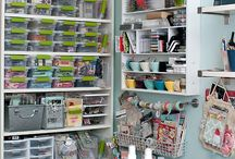 Craft room organisation & inspiration