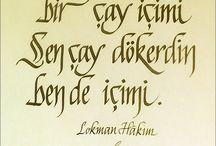 kaligrafi yazilar