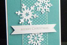 cards- winter
