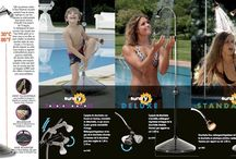 Solar shower- solární sprchy / Solar shower for garden, pool, camping