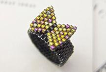 beadwork - rings