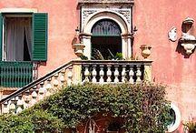 Sicilian Houses / Beautiful Sicilian houses and Sicilian landscapes