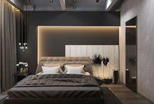 Интерьер || спальная зона