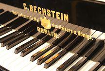 Piano Maker Logos / Piano Maker Logos as Displayed on the Fall or Soundboard