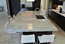 Calacatta Quartzite Kitchen Countertops / Calacatta Quartzite Kitchen Countertops