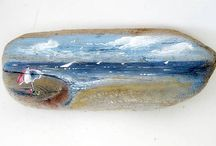 Painted Driftwood / by CJ Morrison