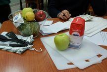 GLI AGRODOLCI / Board per foto e ricette della brigata di cucina GLI AGRODOLCI. (Olga - Alessandro - Ilaria - Eleonora)