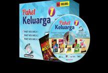 Paket Keluarga 1 / 10 buku berbeda dalam 1 paket + Free CD MP3