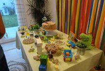Aniversário 1 ano - menino / Aniversário de menino - 1 ano - tema: brinquedos e cores.