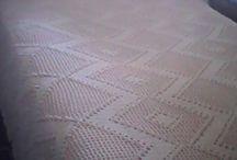 colcha de crochê / amo fazer colchas