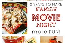 Family Movie & Game Nights!