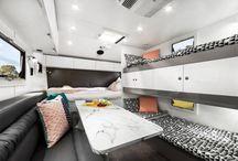 Caravans with bunks