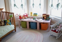 a fun playroom / furniture, ideas & inspiration for kids' play spaces at home / by One Hungry Mama