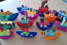 морская тема дети