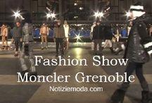 Moncler / Moncler collezione e catalogo primavera estate e autunno inverno abiti abbigliamento accessori scarpe borse sfilata donna.