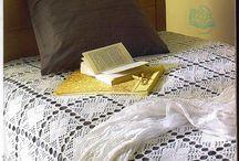 Virkatut päiväpeitteet, viltit ja tyynyt - Crochet Bedspreads, Blankets and Pillows / Crochet bedspreads, blankets and pillows