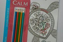 Calm Colour Create (UK, Aus, NZ, USA & Canada) / Colouring magazine for adults