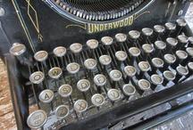 Typewriters / by Anita Moyer