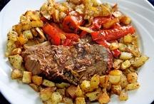 Comida  / Carne al horno argentina