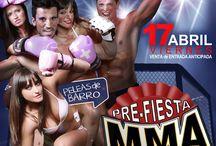 PRE-FIESTA MMA SUPER FIGH GALICIA / Este Viernes 17 de Abril a partir de la 1h. en el ROUGE - VIGO.  -Sorteo de entradas para la 2da Velada MMA -Sorteo de Cena romántica para 2 en el DUOMO - Fin de semana romántico para 2 PAZO TORRES de AGRELO   - Cambio de Imagen en PELUQUERIA SO CHIC  - 2 Mensualidades GRATIS en el Florida GYM  ANIMACION Y LUCHA en BARRO..  NO te lo pierdas entradas ya a la venta   VENTA de ENTRDA ANTICIPADA