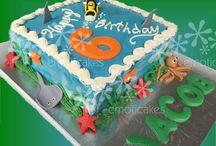 Ocean Themed Cakes