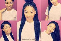 Hair Salons / Braided Afro hair