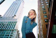 Фото девушка город