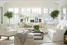 Hamptons style decor / Inspiration for decorating in the Hamptons style