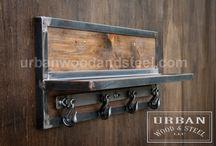Urban wood and steel