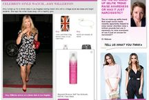 We're Famous / Whether we are getting social, or in the press, Fake Bake loves the spotlight.