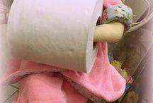 boneca papel higiênico