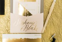 Metallic Weddings / Everything that sparkles and shines