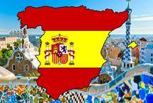Spanje / Impressiebord over Spanje