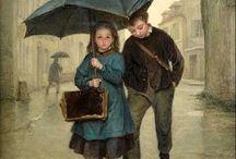 Art & Rain ♥