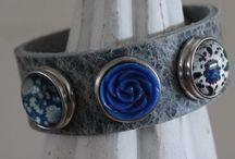 Kant en klaar setjes / Mooie armbanden met unieke combinaties