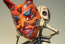 LOVE THE DAY OF THE DEAD ART.....