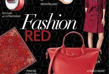Fashion Red Luxury Avenue