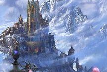 Fantasy landscape / fantasy worlds