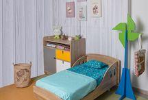 Cuartos para bebés / Ideas prácticas e innovadoras para decorar dormitorios de bebés.