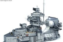 3-D model of the Bismarck