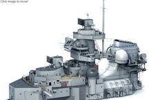 Bismarck: maquetas