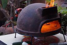 garden oven + wood boiler