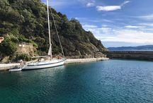 Sailing around the italian islands