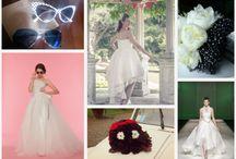 rock bride / rock wedding inspirations