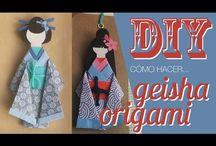 gejsza origami