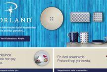 Porland / Sofralarınızı daha şık ve daha özel yapacak Porland ürünleri burada...