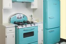 Fridge Restoration Colour Ideas / Colours id like to put on Leonard, our 1940's fridge!